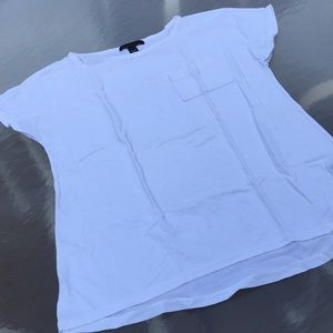 Kenneth Cole white short sleeve T-shirt, size M